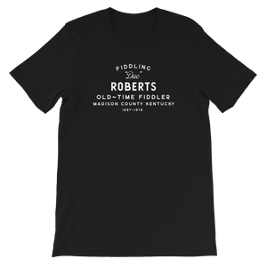 Fiddlin' Doc Roberts old time music t-shirt