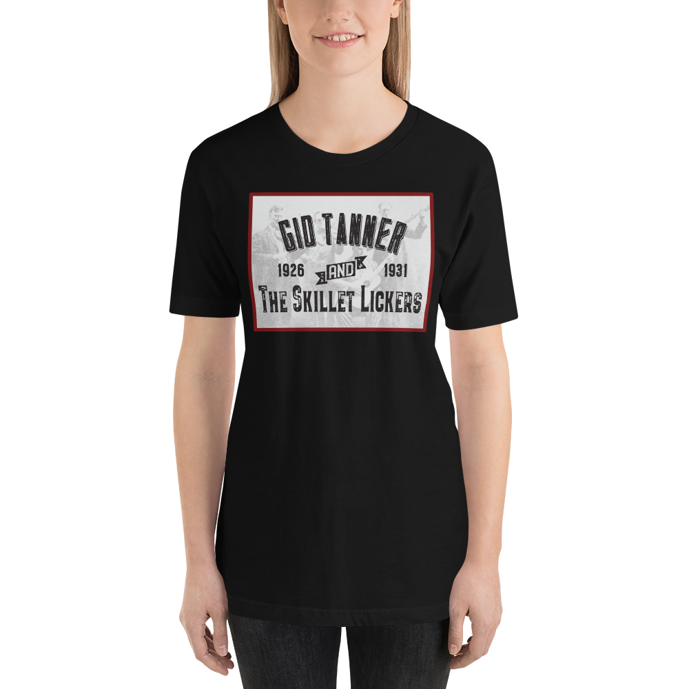 Gid Tanner and The Skillet Lickers Old Time Music T-Shirt