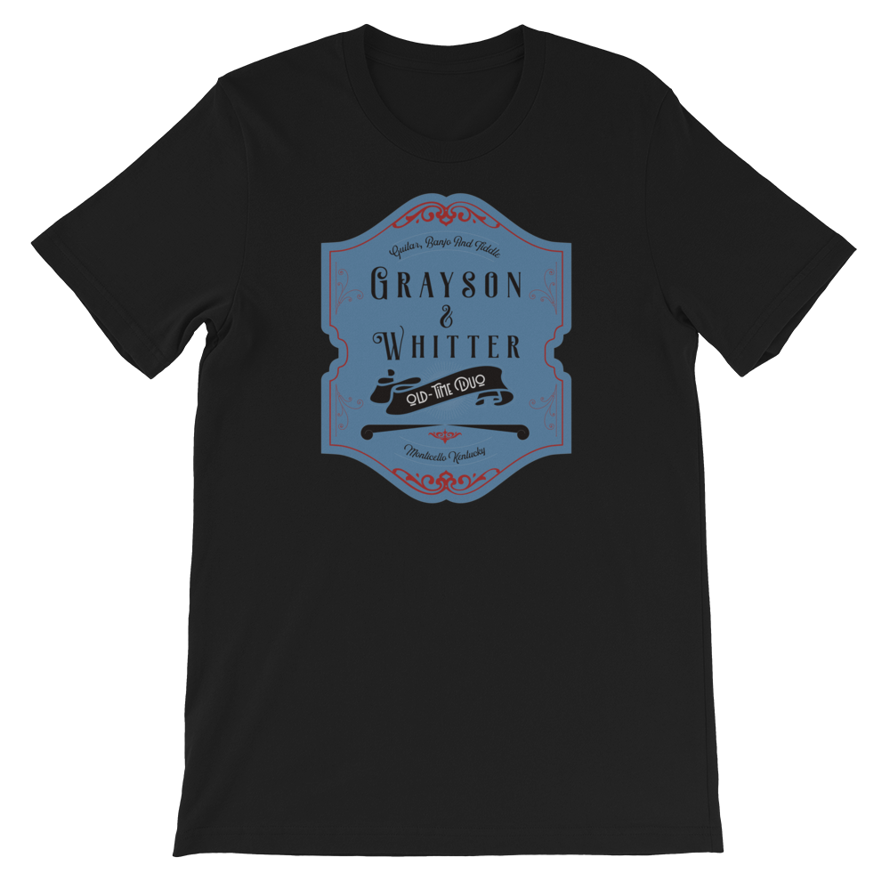 Grayson and Whitter old time music t-shirt