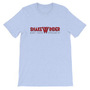 Buddy Thomas' Snakewinder old time t-shirt flatwoods 1927