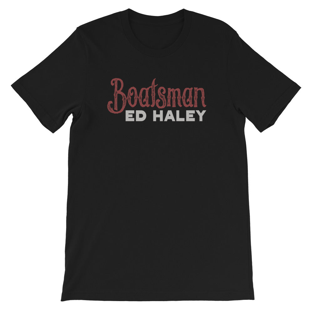 Ed Haley's Boatsman old time music t-shirt
