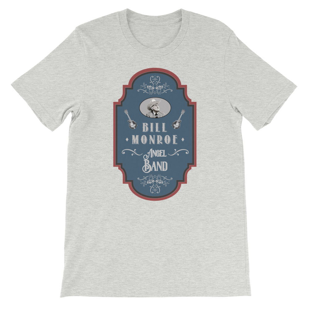 Bill Monroe Bluegrass t-shirt