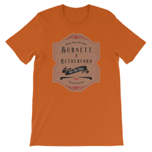 Burnett and Rutherford old time music t-shirt flatwoods 1927