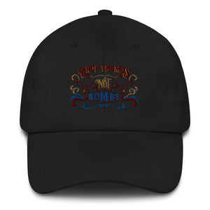Drop thumbs not bombs hat