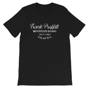 Frank Proffitt old time music t-shirt