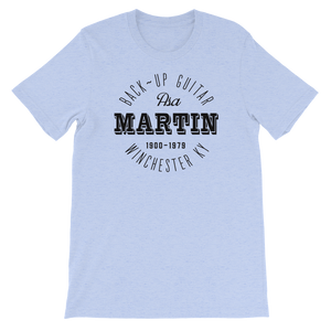 Bluegrass Old Time Music T-shirt Asa Martin