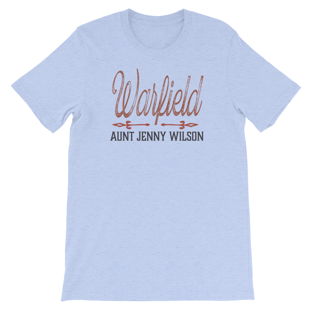 Aunt Jenny Wilson bluegrass old time Music t-shirt