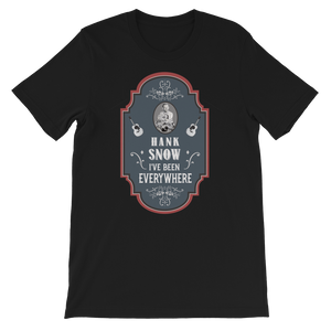 Hank Snow old time counrty music t-shirt