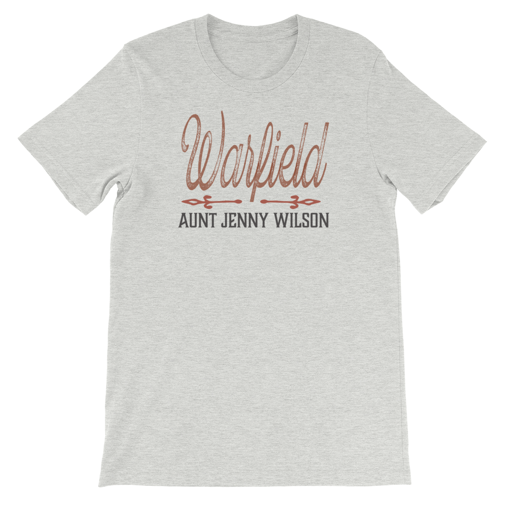 Aunt Jenny Wilson Old Time Bluegrass Music T-Shirt