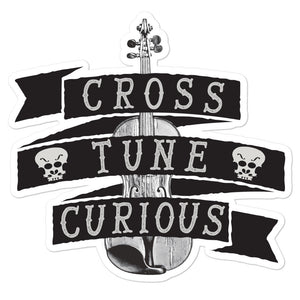 Cross Tune Curious Bubble-free stickers