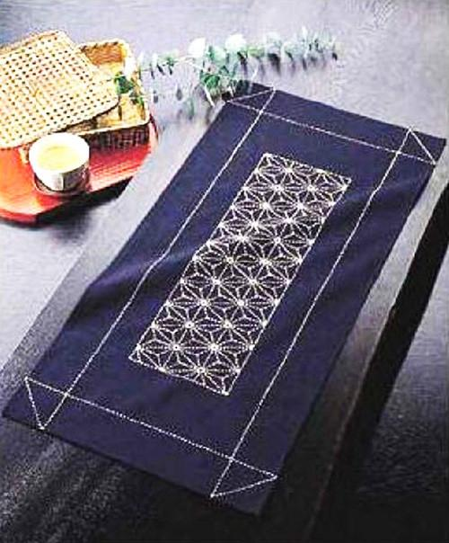 Sashiko Kit - Table Runner  # 170