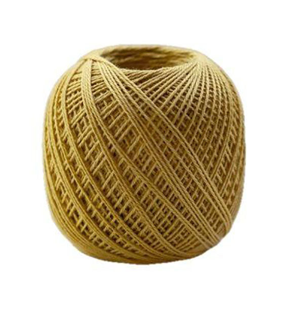 Sashiko Thread - Olympus Thin Weight - Solid Color - # 205 Gold