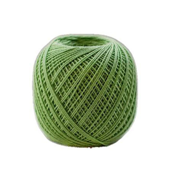 Sashiko Thread - Olympus Thin Weight - Solid Color - # 206 Lime