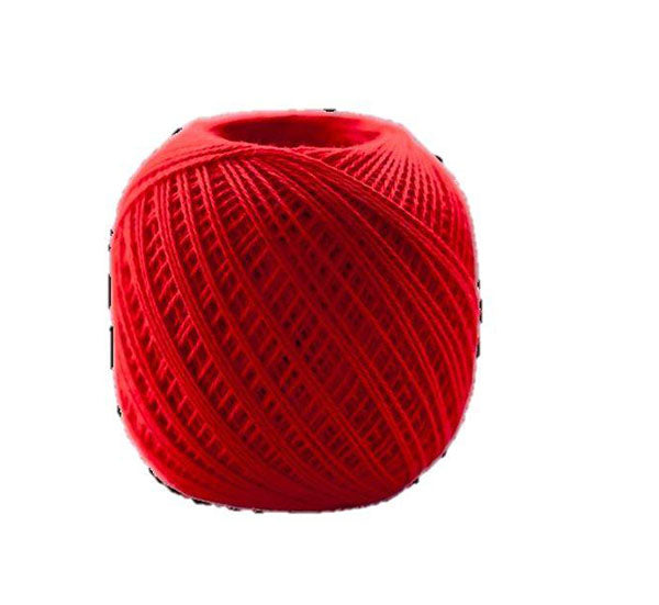 Sashiko Thread - Olympus Thin Weight - Solid Color - # 215 Scarlet