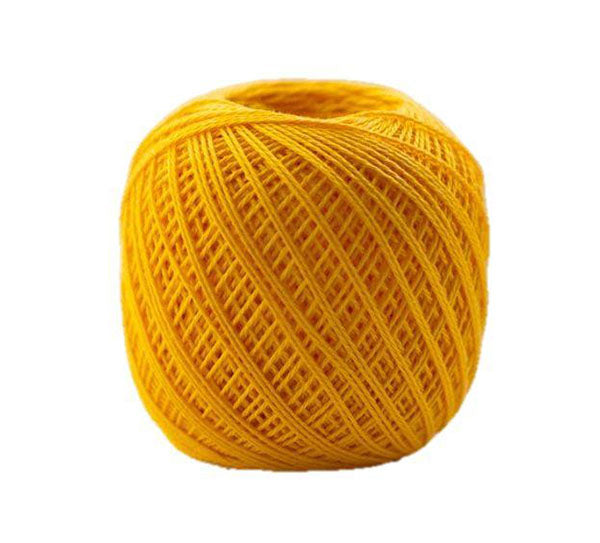 Sashiko Thread - Olympus Thin Weight - Solid Color - # 216 Bright Yellow