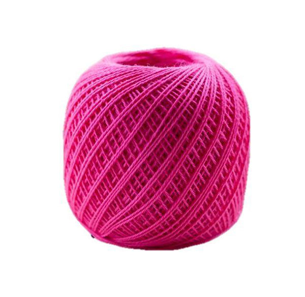 Sashiko Thread - Olympus Thin Weight - Solid Color - # 221 Hot Pink