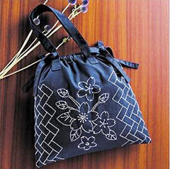 Sashiko Kit - Handbag # 256