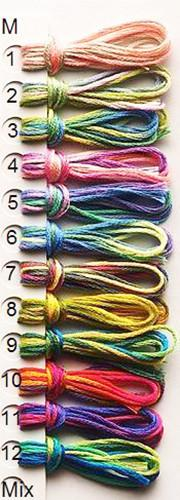 Olympus Multi-Colored Cotton Embroidery Floss - M05