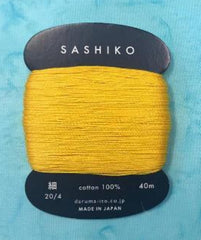 Sashiko Thread - Daruma - Thin Weight - 40m - # 204 Sunflower