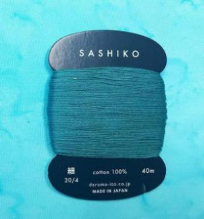 Sashiko Thread - Daruma - Thin Weight - 40m - # 205 Dark Teal