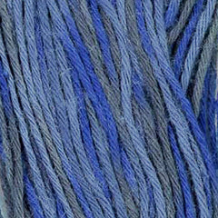 Sashiko Thread - Olympus 20m - Variegated # 98 - Midnight - Dark Navy & Charcoal