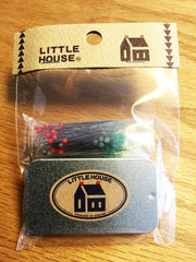 Notions - Little House Japanese Dressmaker's Pin with Tin