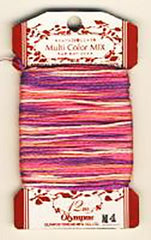 Olympus Multi-Colored Cotton Embroidery Floss - M04