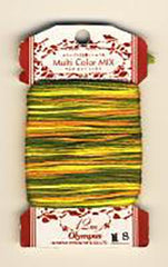 Olympus Multi-Colored Cotton Embroidery Floss - M08