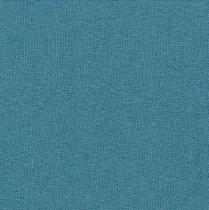 Sashiko Fabric - Cotton-Linen - TEAL