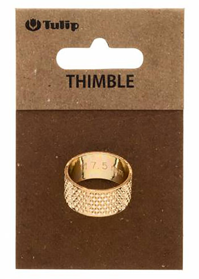 "Notions - Tulip Co. of Japan - Ring Thimble - 17.5mm - 0.68"" (M-L)"