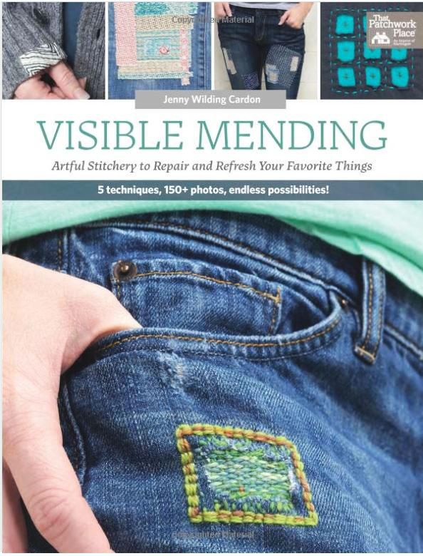 Book - VISIBLE MENDING - Jenny Wilding Cardon