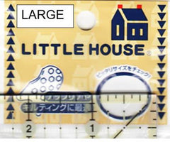 Notions - Little House Japanese Rubber Grip Thimbles (2 pack)