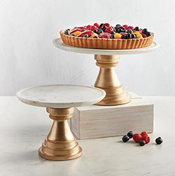 Marble Cake Stands