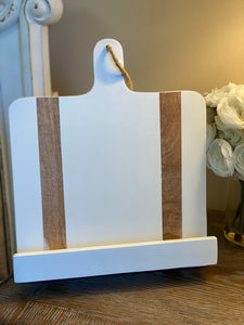 Paddle Cookbook Holder