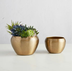 Matte Gold Decor Bowl Set