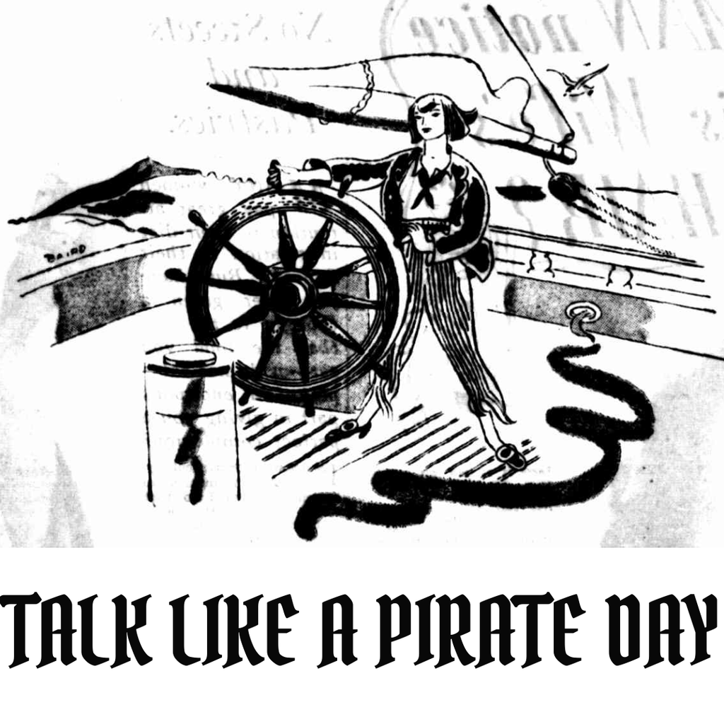 Talk Like a Pirate Day - Tasmanian Wine