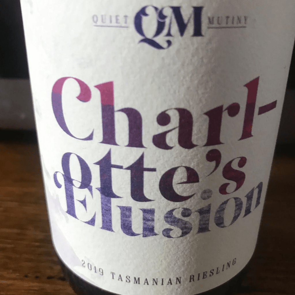 Review: Charlotte's Elusion 2019 Riesling - Quiet Mutiny - Tasmanian Wine