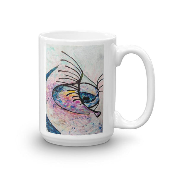 All Eyez On You Novelty Mug Cult Art Fusion