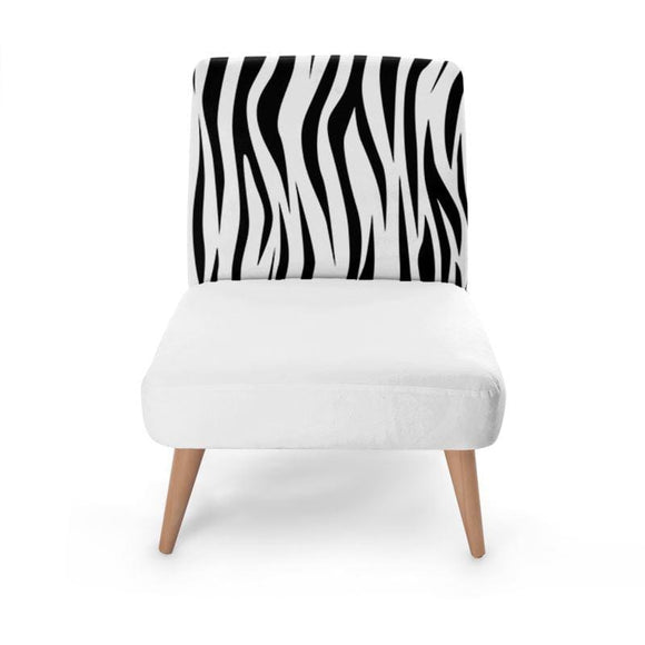 Animal Print Occasional Chair Occasional Chair Cult Art Fusion