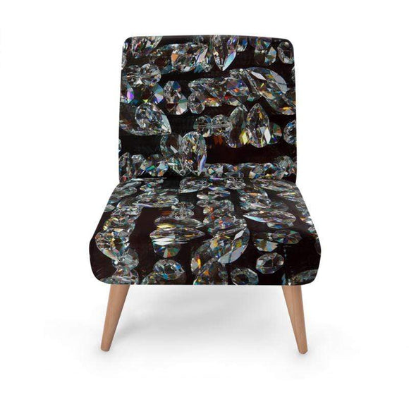 Black Jewel Occasional Chair Occasional Chair Cult Art Fusion
