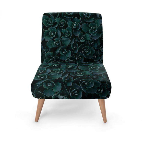 Black Rose Occasional Chair Occasional Chair Cult Art Fusion