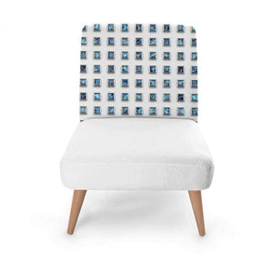 Blue Jewel Occasional Chair Occasional Chair Cult Art Fusion