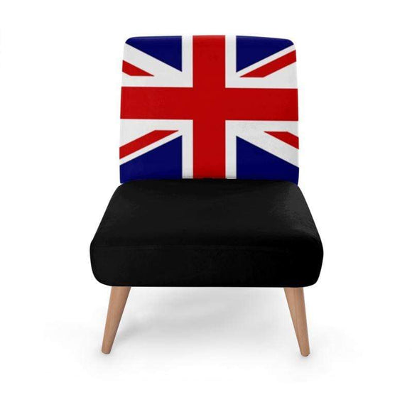Brit Flag Occasional Chair Occasional Chair Cult Art Fusion