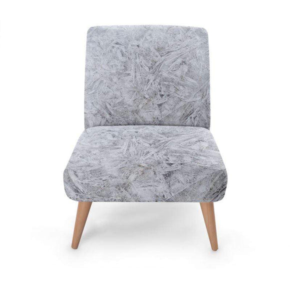 Brushed Cotton Print Occasional Chair Occasional Chair Cult Art Fusion