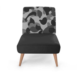 Camo Block Occasional Chair Occasional Chair Cult Art Fusion