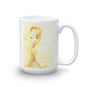 Deity Sun Novelty Mug Cult Art Fusion