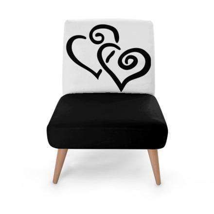 Double Heart Occasional Chair Occasional Chair Cult Art Fusion