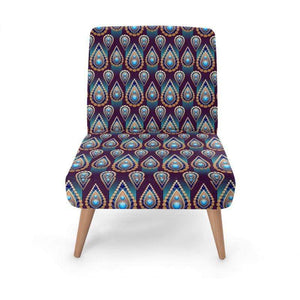 Ethnic Inspired Occasional Chair Occasional Chair Cult Art Fusion