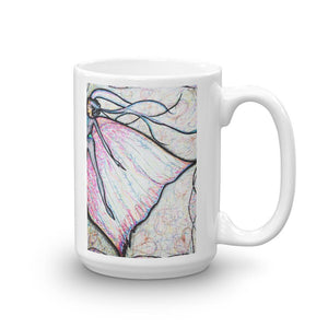 Fairy Queen Pink Novelty Mug Cult Art Fusion