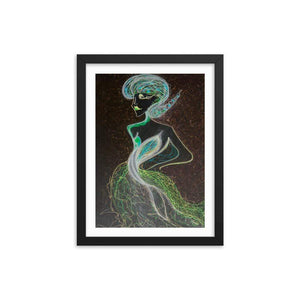 Fairy X Wooden Framed Print Cult Art Fusion